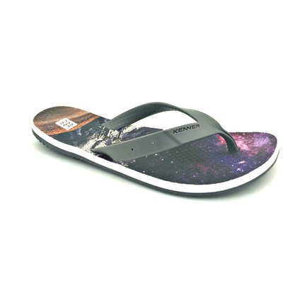 Chinelo Masculino Kenner Summer Fusca Grafite
