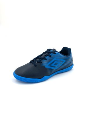 Chuteira Futsal Indoor Infantil Umbro F5 Light Jr Azul