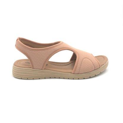 Sandália Comfortflex Antique Tecido Elástico Calce Fácil