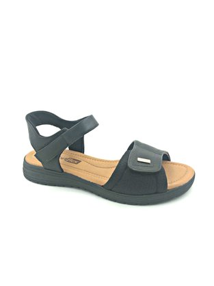 Sandália Comfortflex Papete Preta 2051403