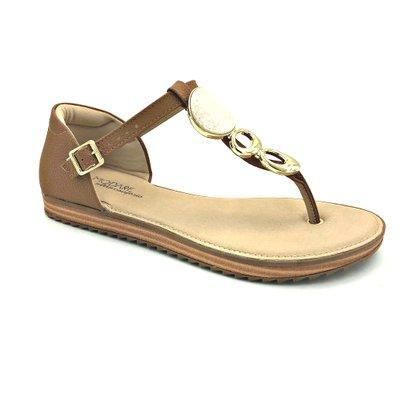 Sandália Modare Ultra Conforto Camel 7141.116