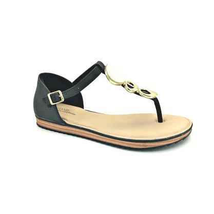 Sandália Modare Ultra Conforto Preta 7141.116