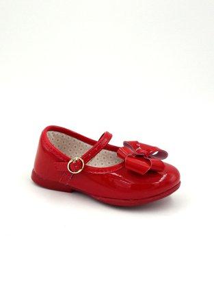 Sapatilha Menina Kidy Vermelha Bailarina Com Laço