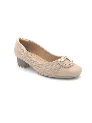 Sapato Comfortflex Elástico Nude Joanete 2086303