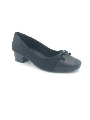 Sapato Comfortflex Elástico Preto Joanete 2086302