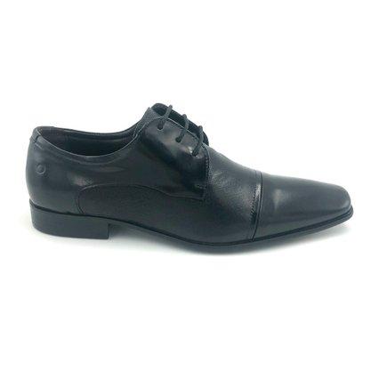 Sapato Democrata Social Couro Preto 055115