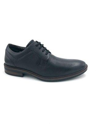 Sapato Ferracini Preto Couro Elástico 4446 Clear