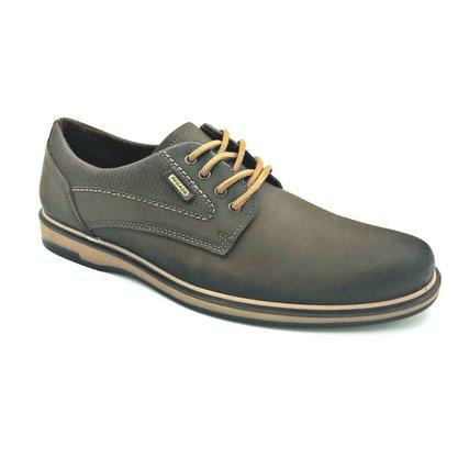 Sapato Pegada Casual Couro Natural Cravo 125107