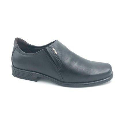 Sapato Pegada Couro Natural Preto 22101