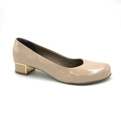 Sapato Tamanho Especial 38 a 42 Nude Adriana 595202