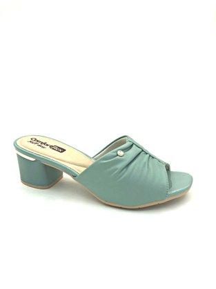 Tamanco Comfortflex Verde Salto Grosso 2052401