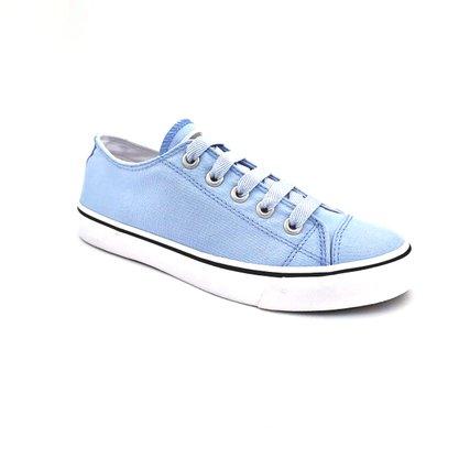 Tênis Capricho Feminino Lona Azul Like Canvas 0540