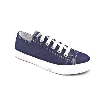 Tênis Capricho Feminino Lona Jeans Like Canvas 0689