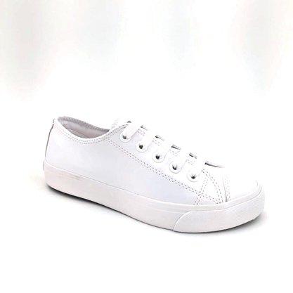 Tênis Capricho Feminino Monocolor Branco Like Class 0570