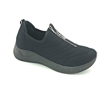 Tênis Comfortflex Casual Knit Preto 2190304