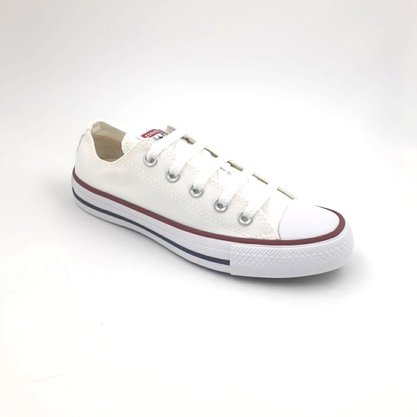 Tênis Converse All Star Lona Branco Chuck Taylor CT10001