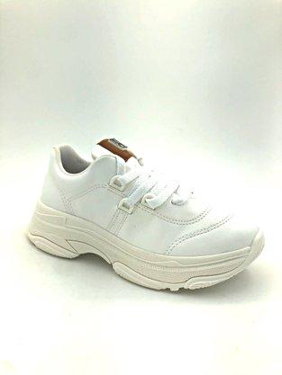 Tênis Feminino Bebecê Branco Chunky Sneaker 1319-445