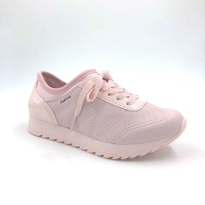 Tênis Menina Jogging Pink Cats Rosa 1251