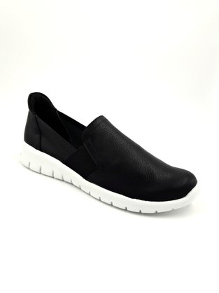Tênis Slip On Piccadilly Preto Elásticos Laterais