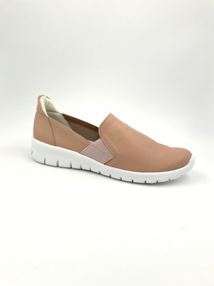 Tênis Slip On Piccadilly Rosê Elásticos Laterais