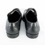 Sapato Ferracini Preto Couro Social Cadarço Liverpool